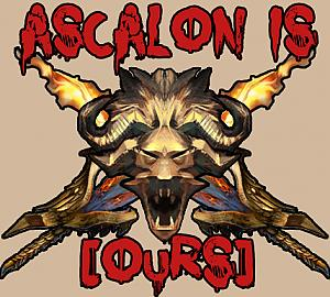 Ascalon is [OuRS]